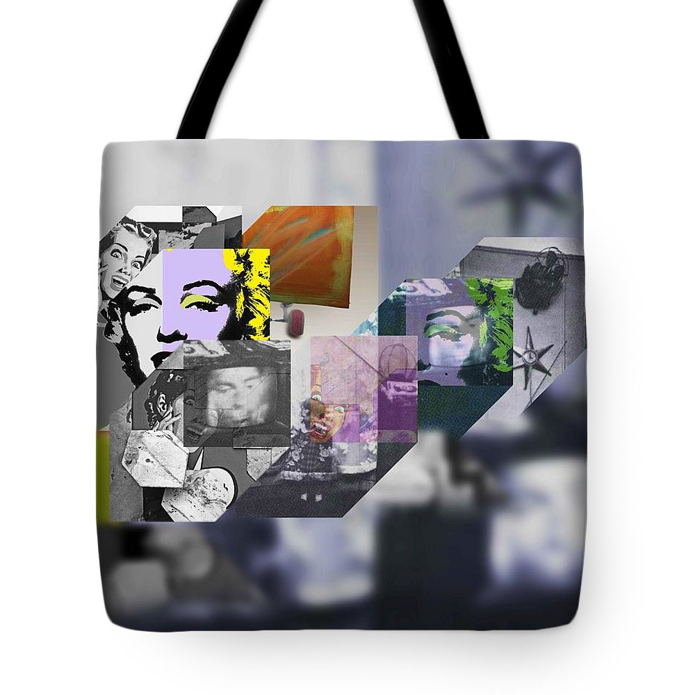 Harlem Tote Bag featuring the painting Interior Iv by Charles Stuart