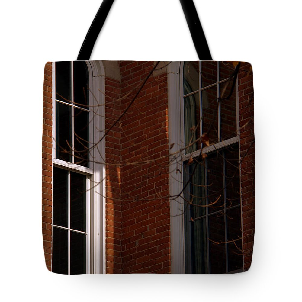 Inward Or Outward Tote Bag featuring the photograph Inward Or Outward by Ed Smith