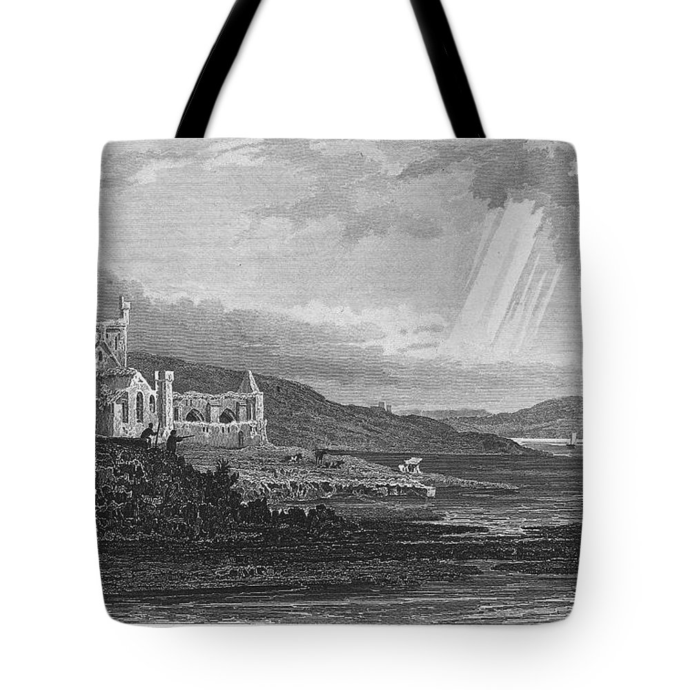13th Century Tote Bag featuring the photograph Ireland: Dunbrody Abbey by Granger