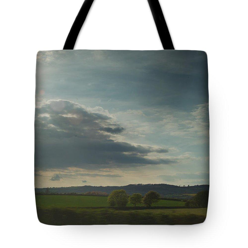 Ireland Tote Bag featuring the photograph Ireland Pastorial Scene by Douglas Barnett