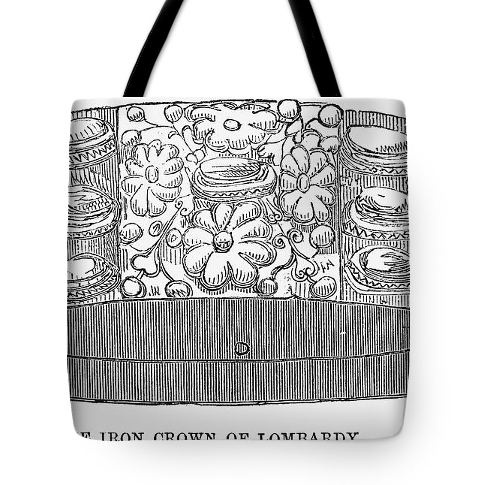1859 Tote Bag featuring the photograph Iron Crown Of Lombardy by Granger