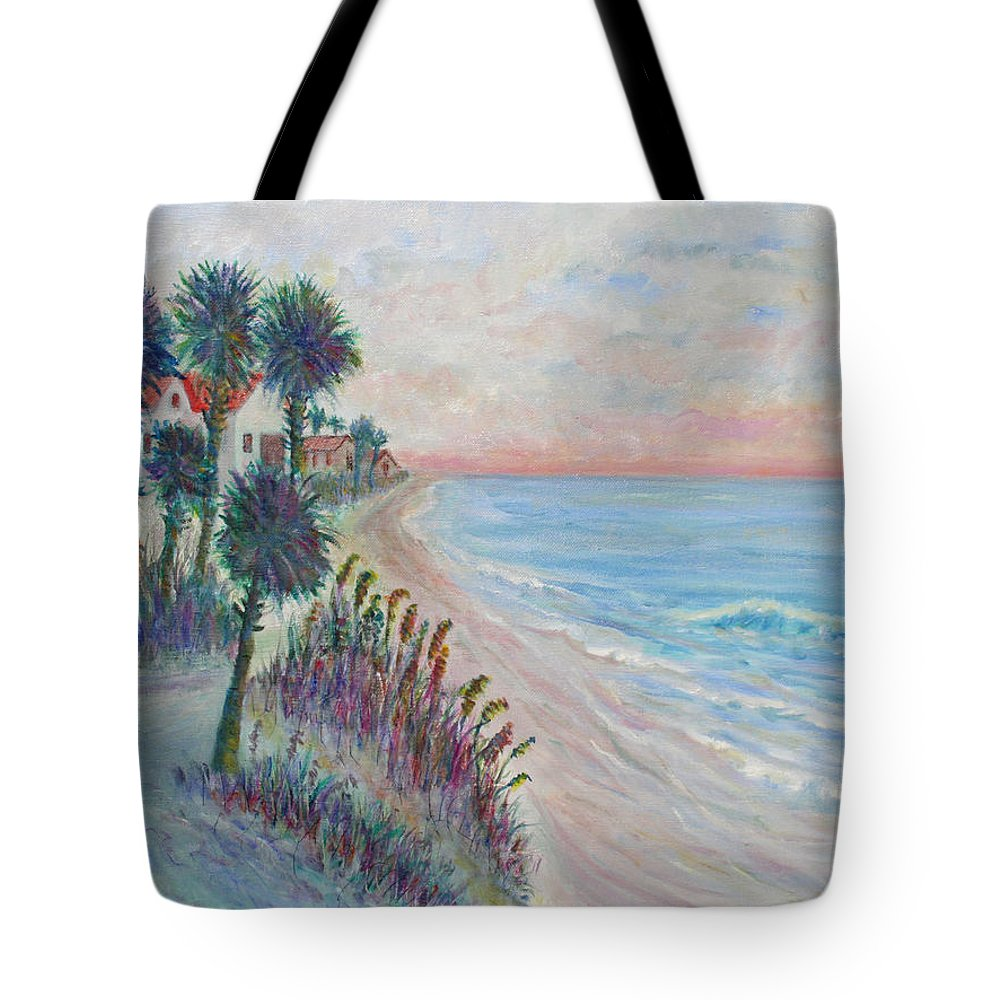 Seascape Tote Bag featuring the painting Isle of Palms by Ben Kiger