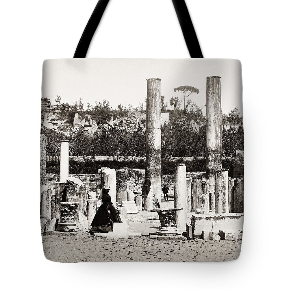 1890 Tote Bag featuring the photograph Italy: Pozzuoli, C1890 by Granger