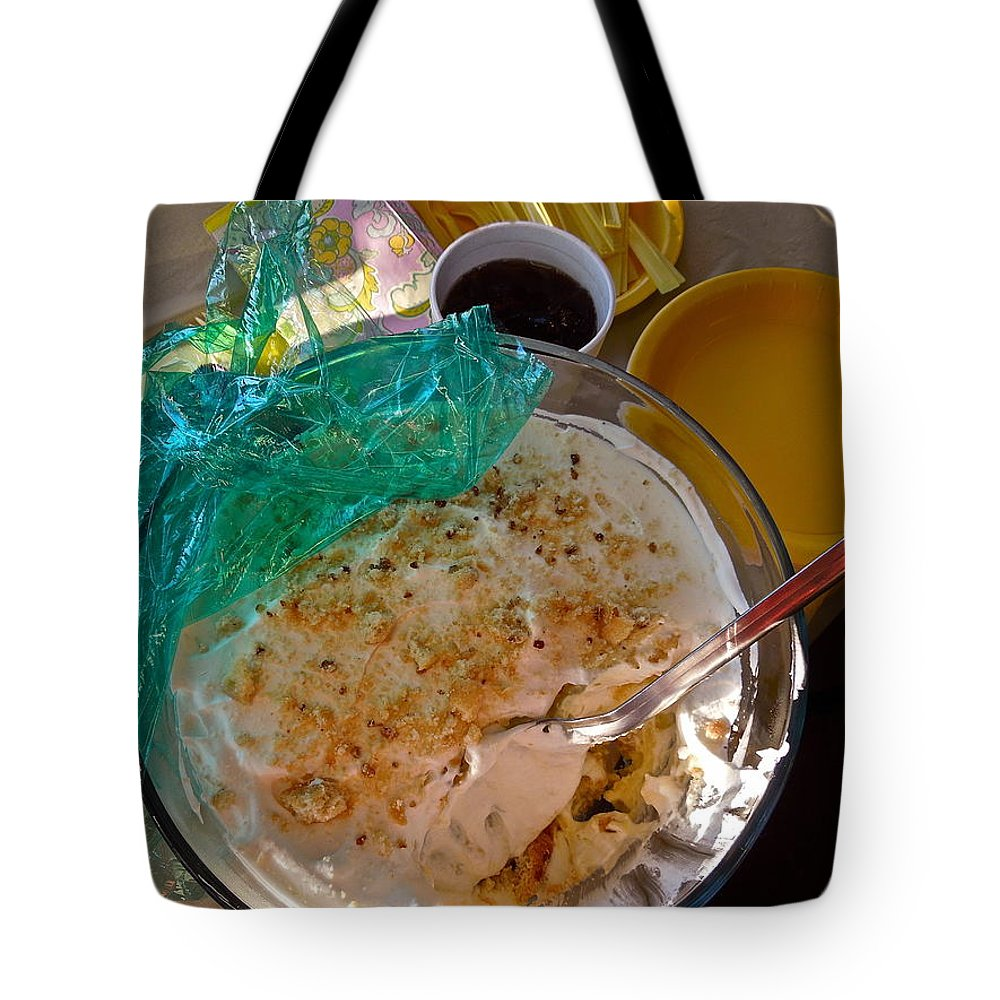 Food Tote Bag featuring the photograph It's My Party by Diana Hatcher