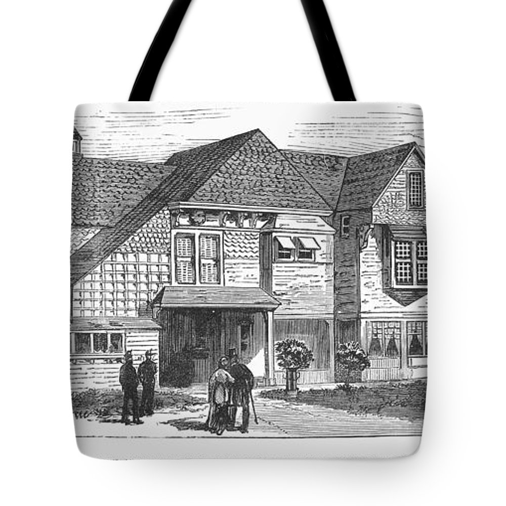 1881 Tote Bag featuring the photograph James A. Garfield by Granger