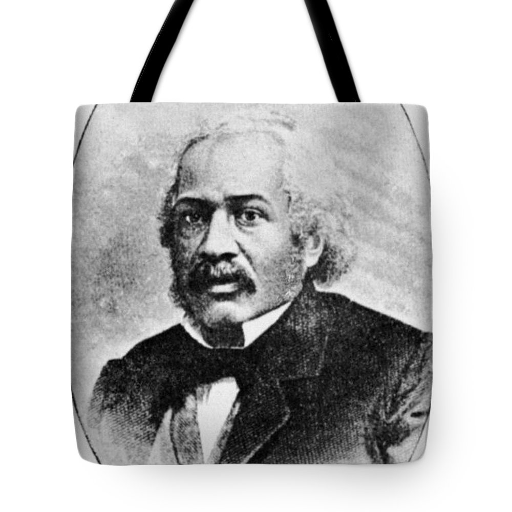 19th Century Tote Bag featuring the photograph James Mccune Smith by Granger