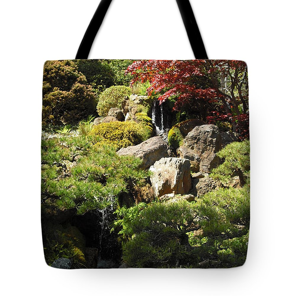 Japanese Tote Bag featuring the photograph Japanese Tea Gardens San Francisco by Richard Reeve
