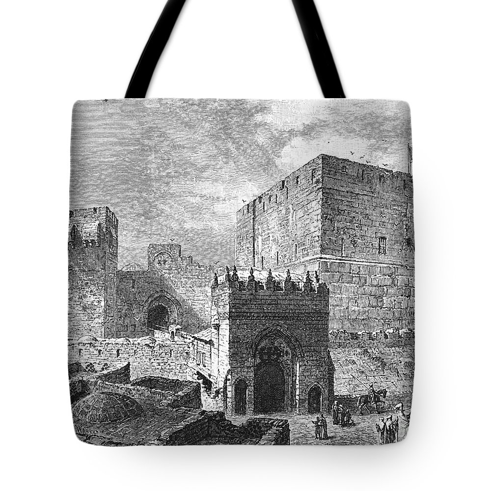 2nd Century B.c Tote Bag featuring the photograph Jerusalem: Citadel by Granger