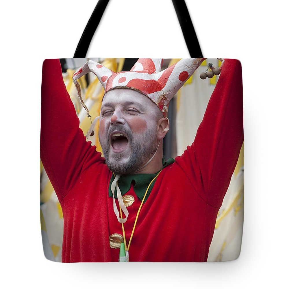 Britain Tote Bag featuring the photograph Jester by Andrew Michael
