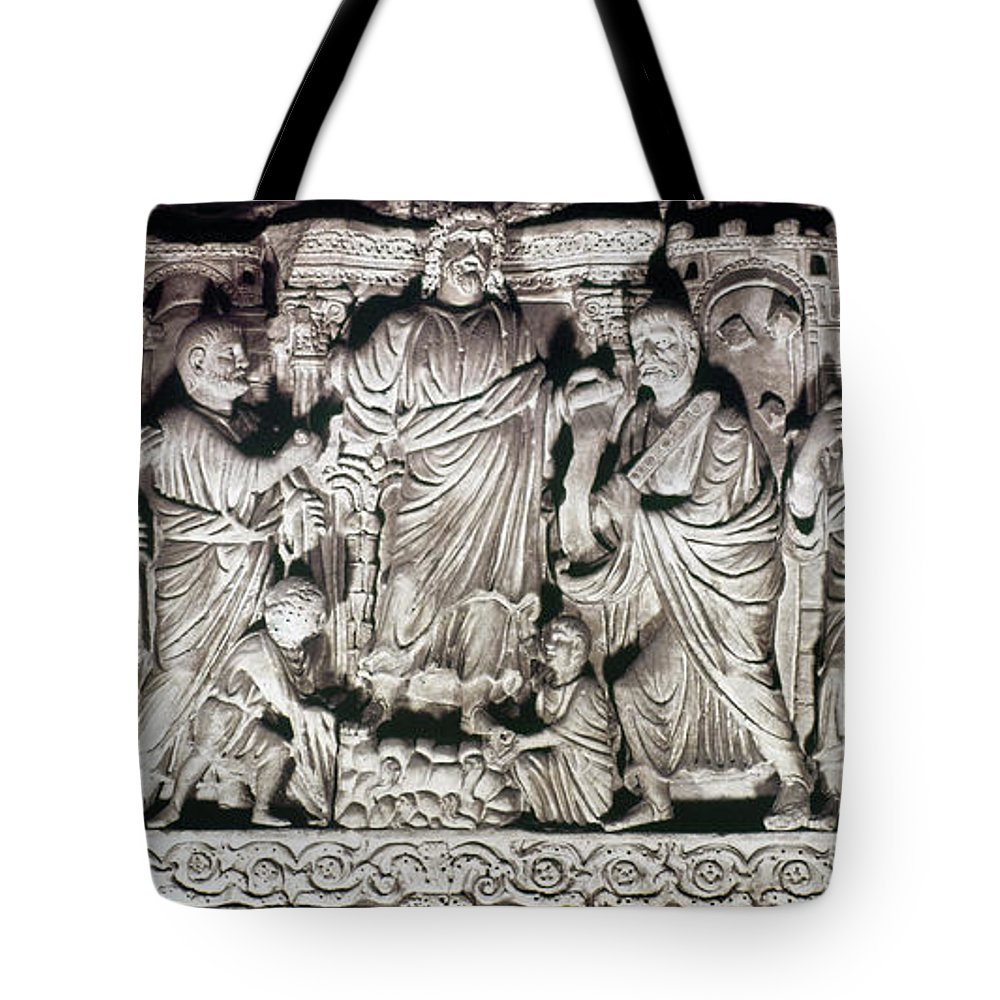 4th Century Tote Bag featuring the photograph Jesus & Apostles by Granger
