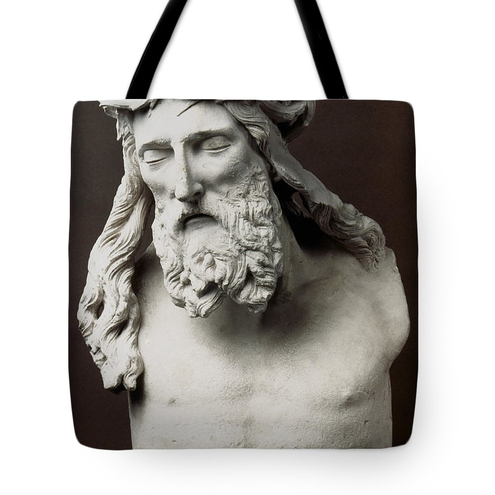1395 Tote Bag featuring the photograph Jesus: Crucifixion by Granger