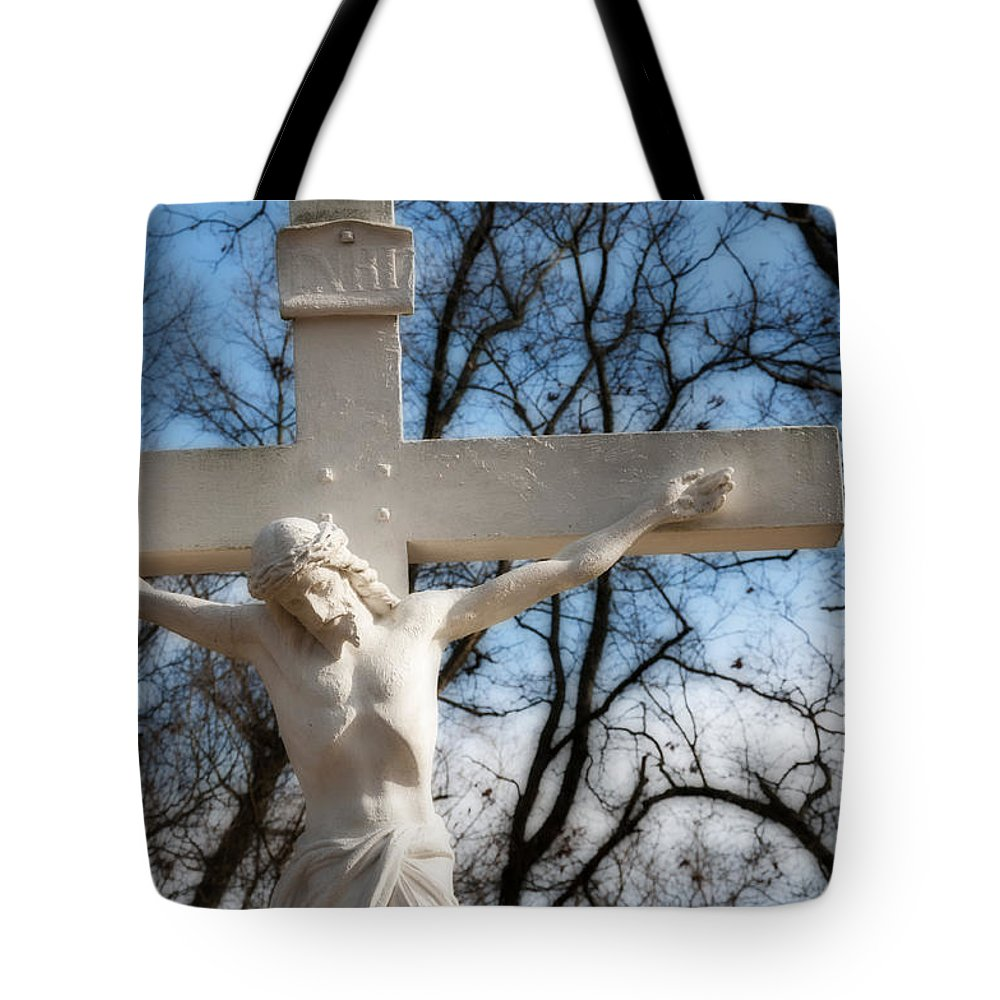 Jesus Tote Bag featuring the photograph Jesus by David Arment