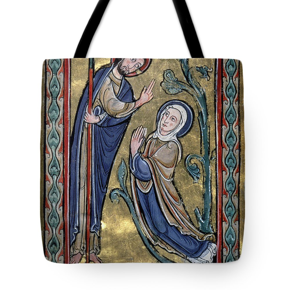 12th Century Tote Bag featuring the photograph Jesus: Resurrection by Granger