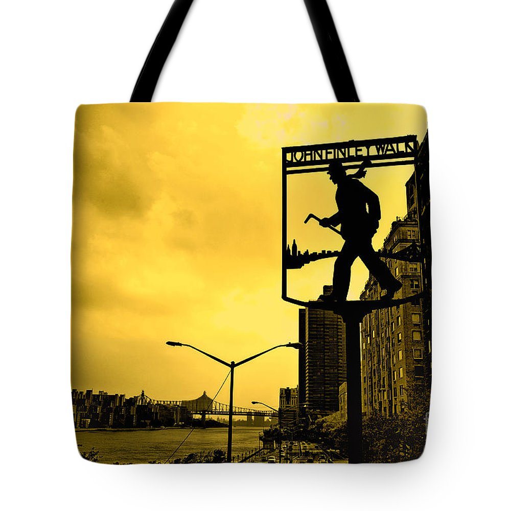 John Finley Walk Tote Bag featuring the photograph John Finley Walk V1 by Madeline Ellis