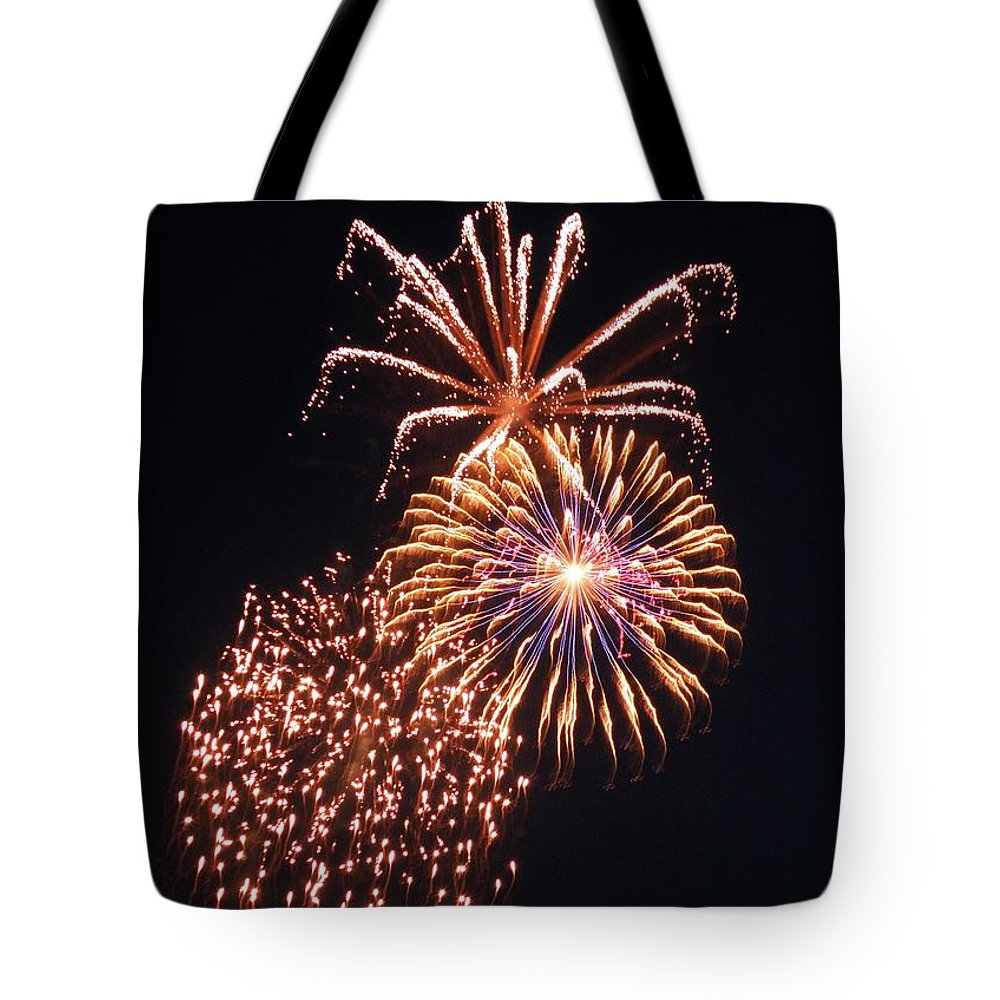 July Fourth Tote Bag featuring the photograph July Fourth 2012 O by M Brandl