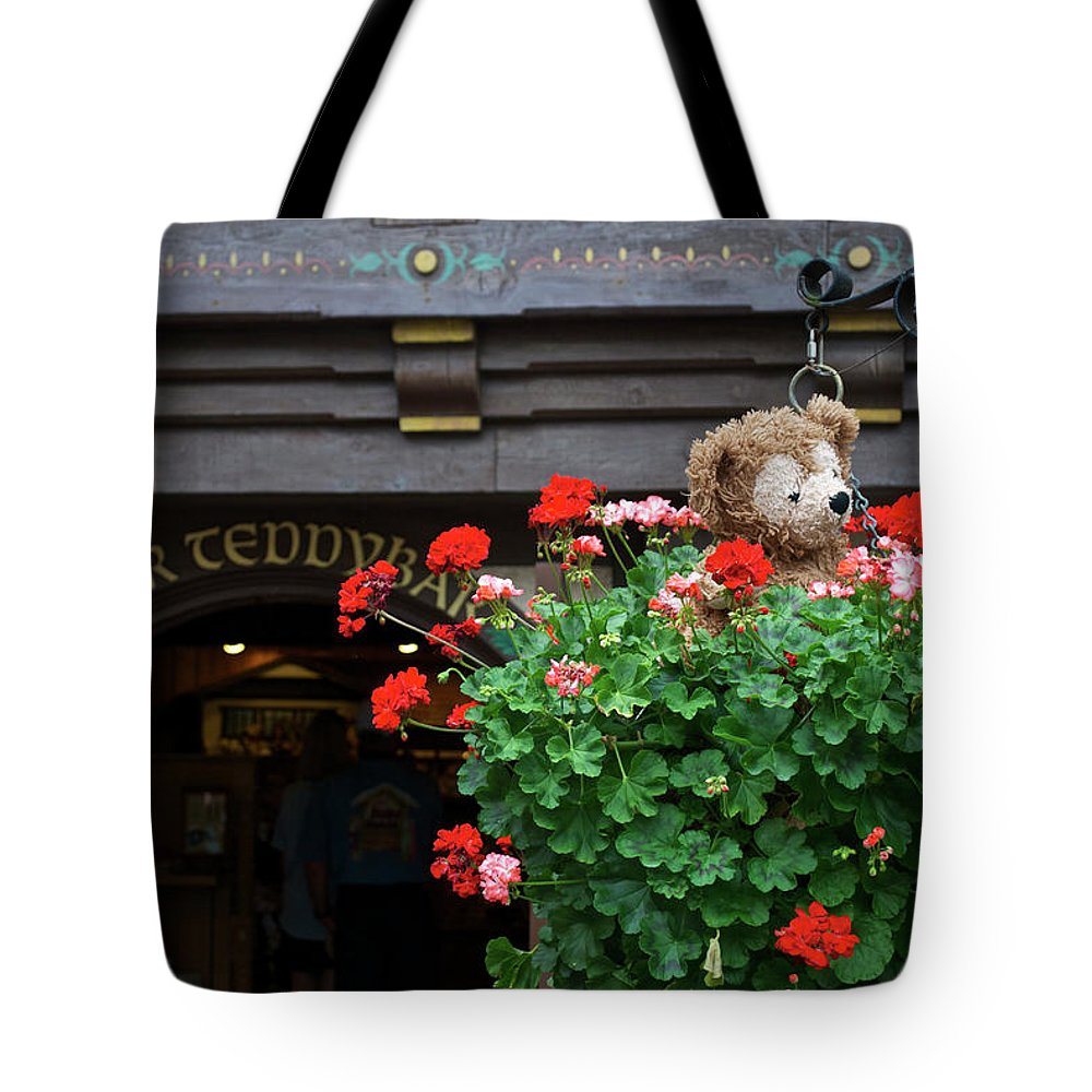 Fantasy Tote Bag featuring the photograph Just Hanging Around Bear by Thomas Woolworth
