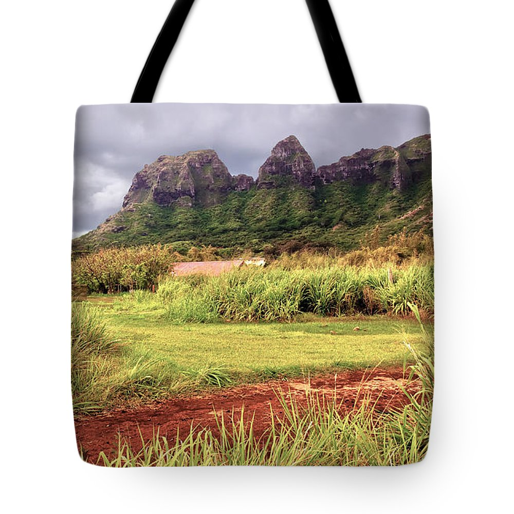 America Tote Bag featuring the photograph Kalalea Mountain Range by Artistic Photos