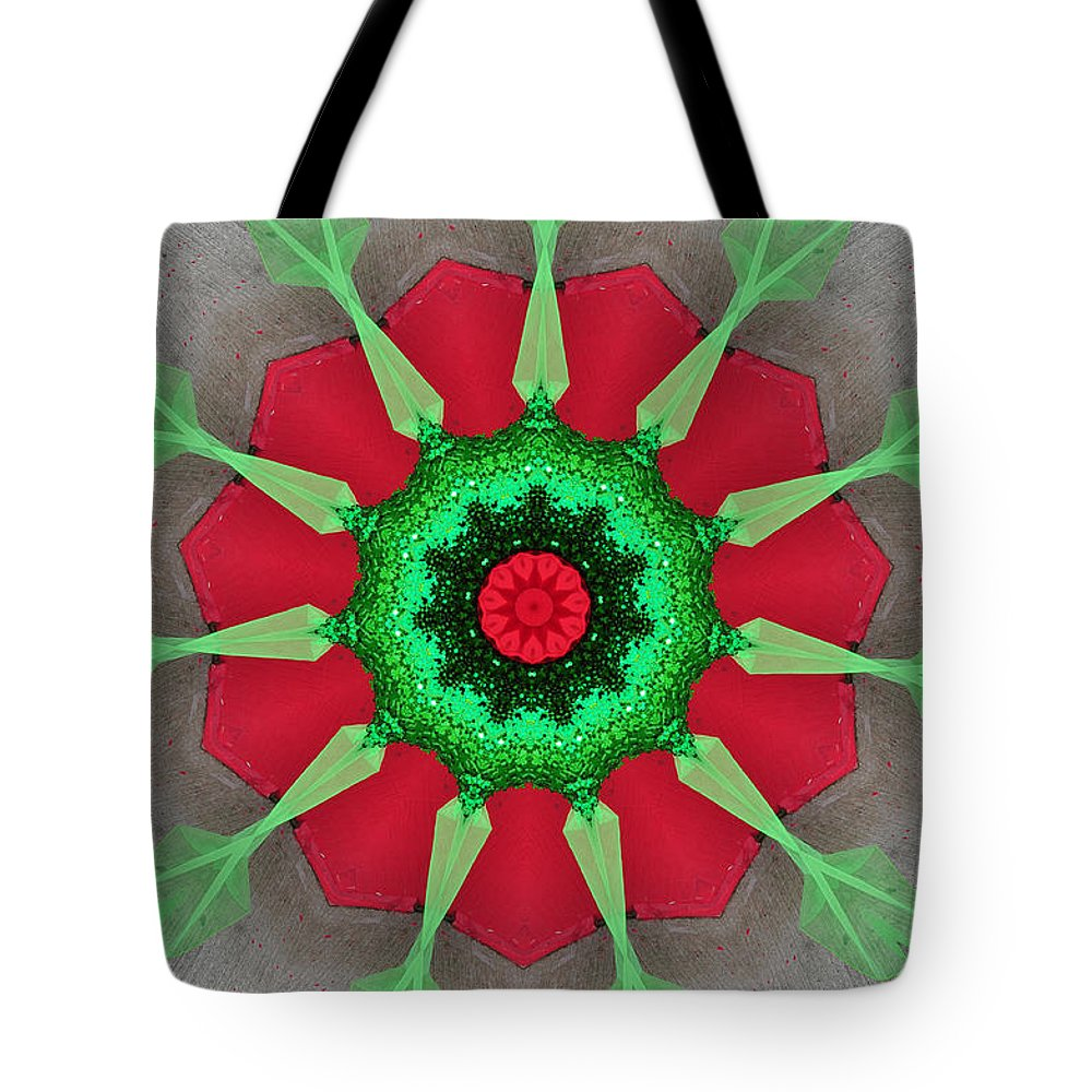 Digital Design Tote Bag featuring the photograph Kaleidoscope Mermaid by Mark Gilman