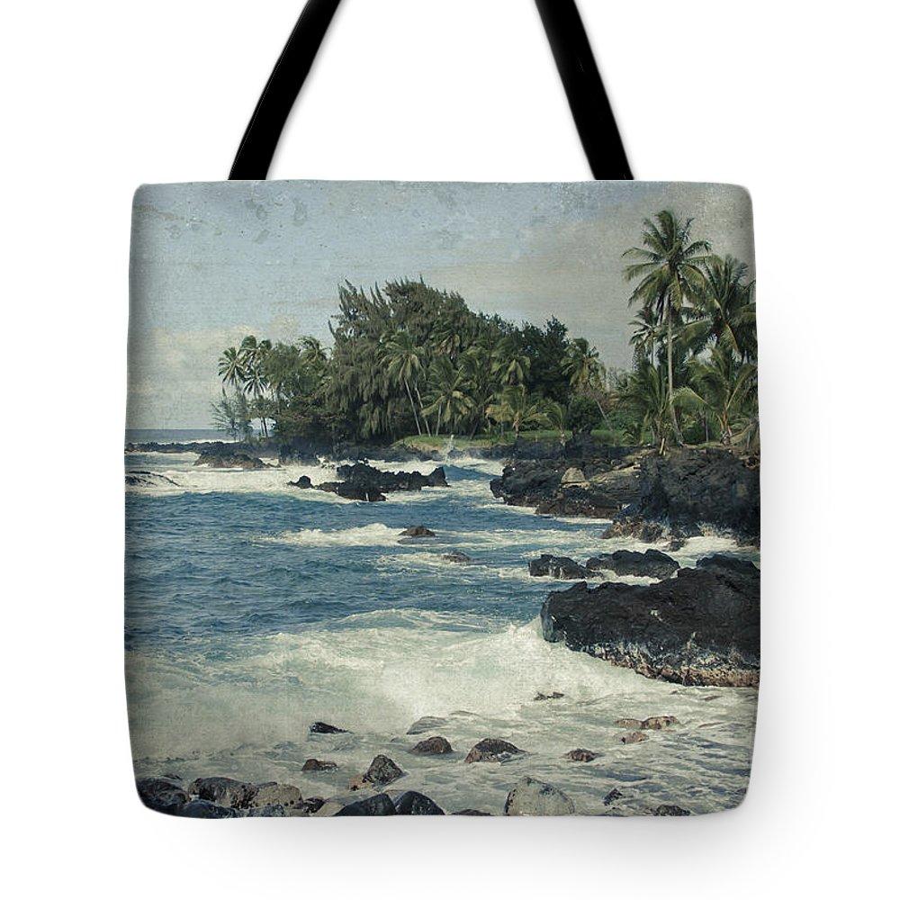 Aloha Tote Bag featuring the photograph Keanae by Sharon Mau