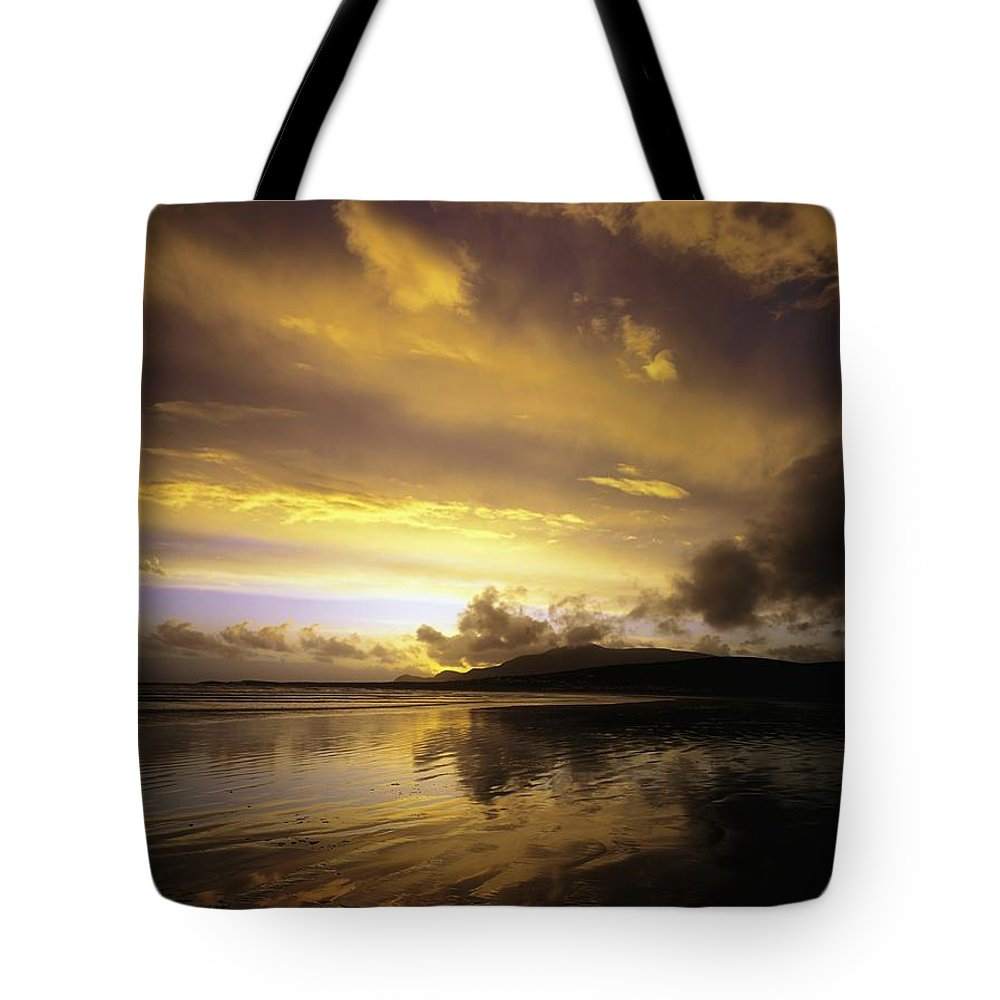 Beauty Tote Bag featuring the photograph Keel, Achill Island, Co Mayo, Ireland by The Irish Image Collection