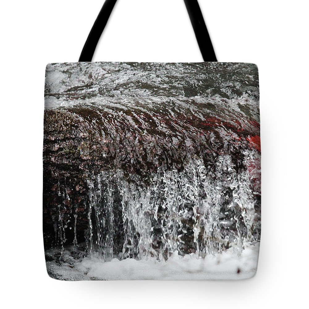 Water Tote Bag featuring the photograph Keep It Clean by Marie Jamieson