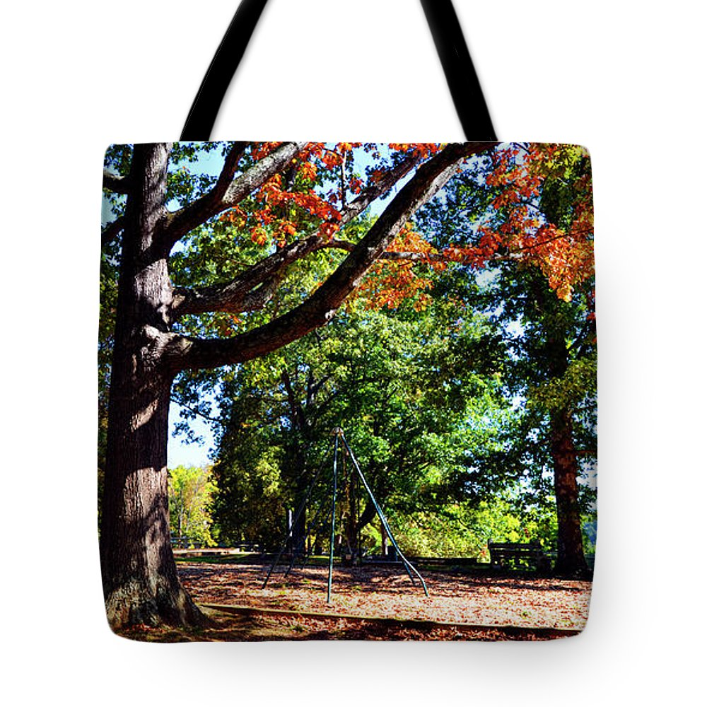 Kellifeer Park Tote Bag featuring the photograph Kellifeer Park by Paul Mashburn