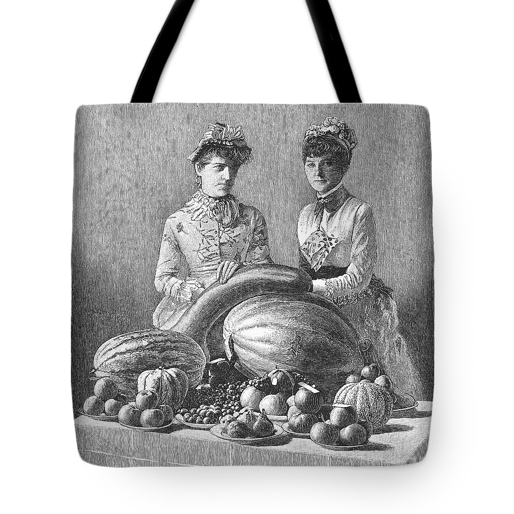 1889 Tote Bag featuring the photograph Kentucky: Fair, C1889 by Granger