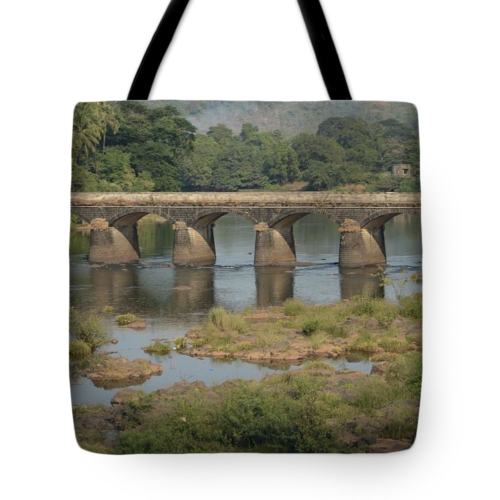 Kerala Tote Bag featuring the photograph Kerala Beauty by Valerie Rosen