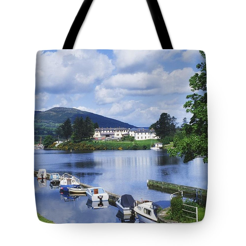 Boats Tote Bag featuring the photograph Killaloe, County Clare, Ireland by Sici