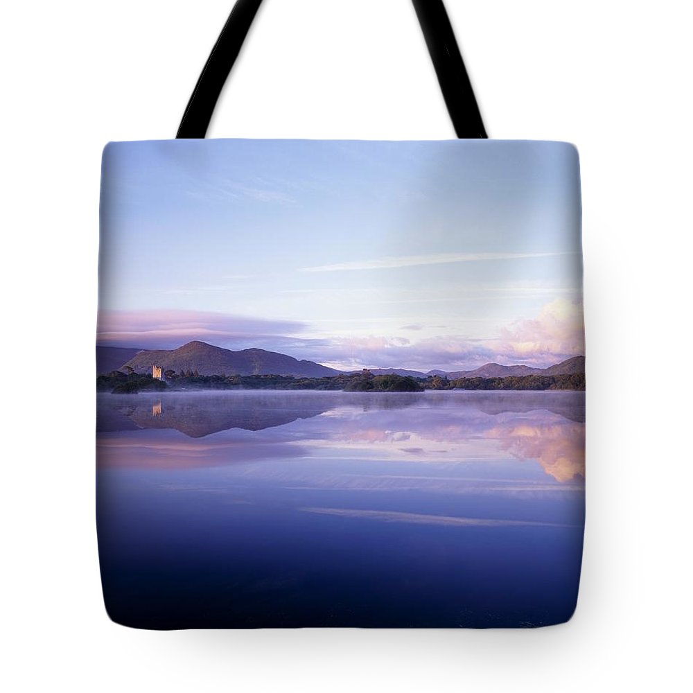 Calm Tote Bag featuring the photograph Killarney, Co Kerry, Ireland, Ross by The Irish Image Collection