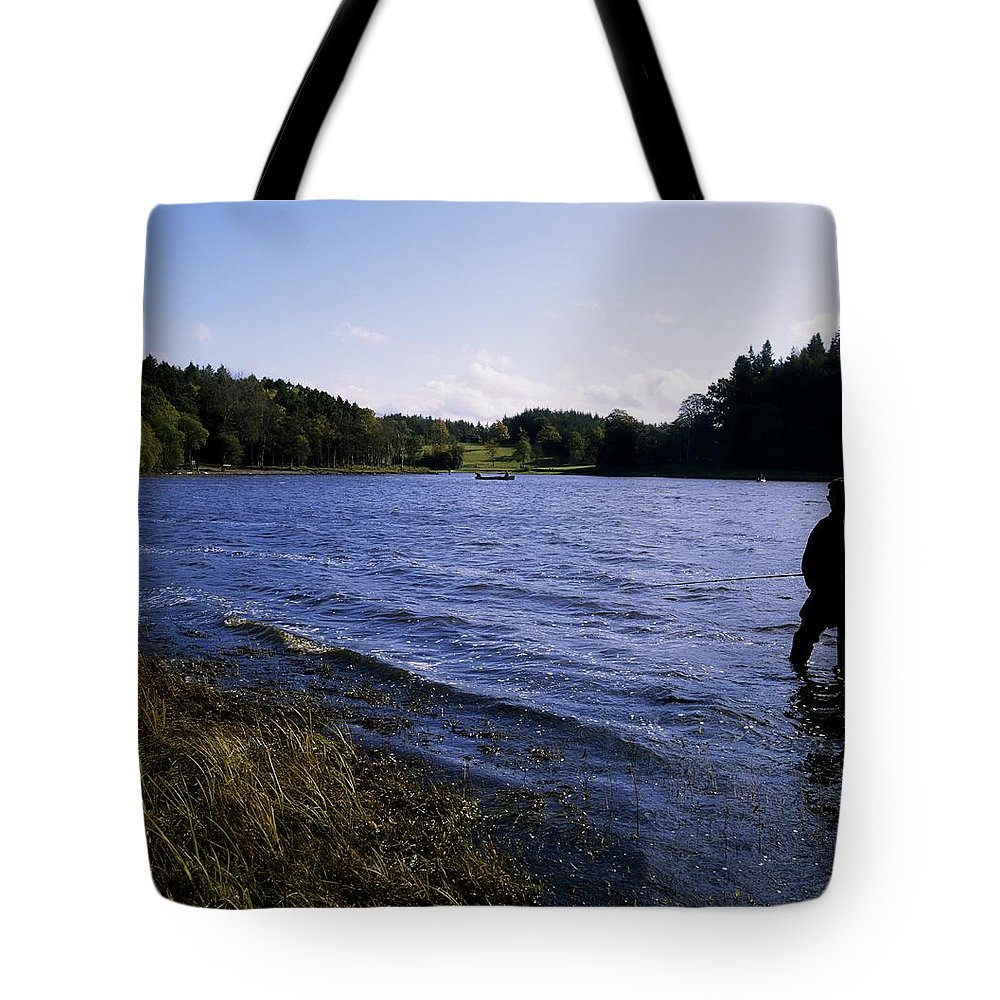 Background People Tote Bag featuring the photograph Killykeen Forest Park, Co Cavan by The Irish Image Collection