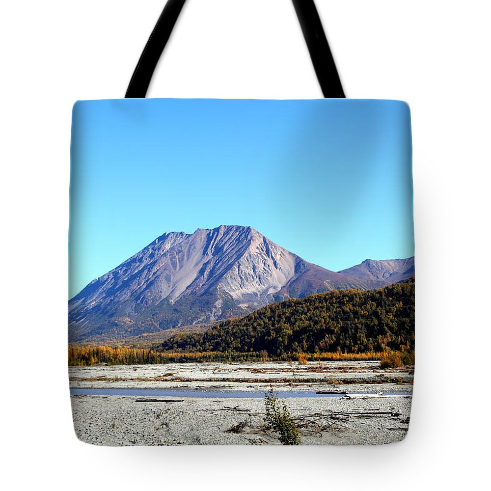 Doug Lloyd Tote Bag featuring the photograph King Mountain by Doug Lloyd