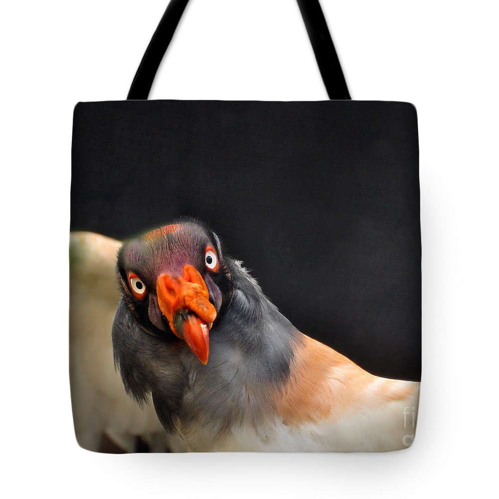 Nature Tote Bag featuring the photograph King Vulture by Susan Cliett