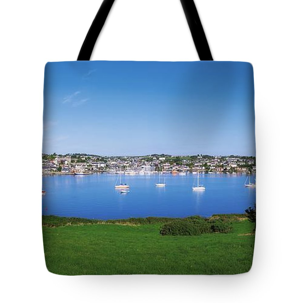 Boat Tote Bag featuring the photograph Kinsale, Co Cork, Ireland Boats And by The Irish Image Collection