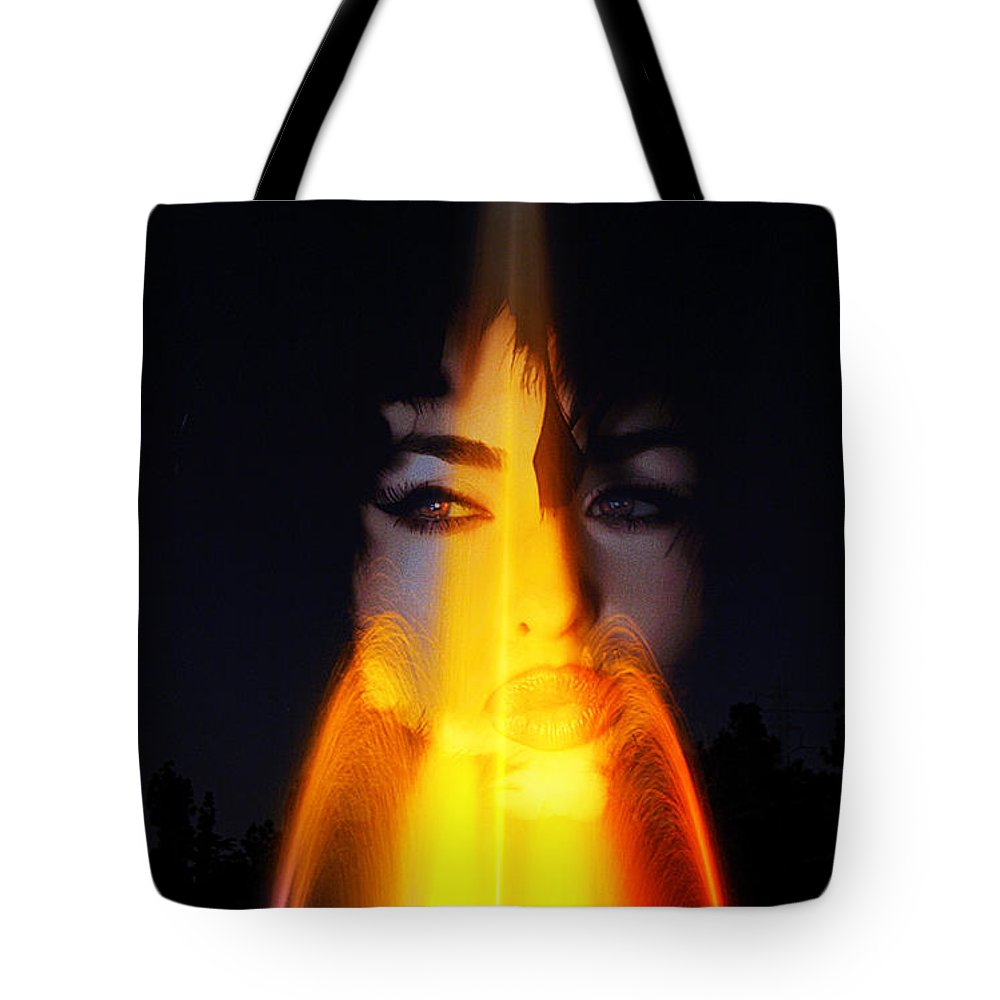 Clay Tote Bag featuring the photograph Kiss A Rainbow by Clayton Bruster