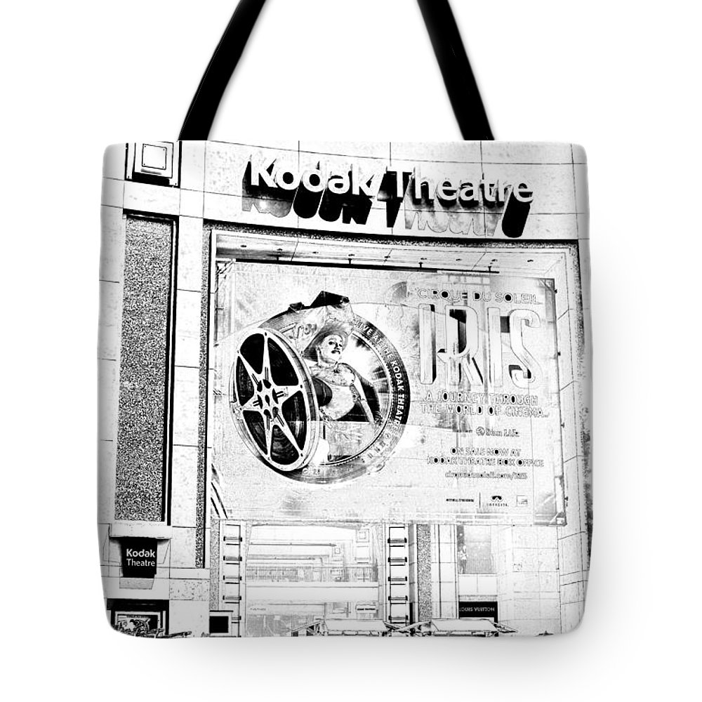 Academy Tote Bag featuring the photograph Kodak Theatre by Ricky Barnard