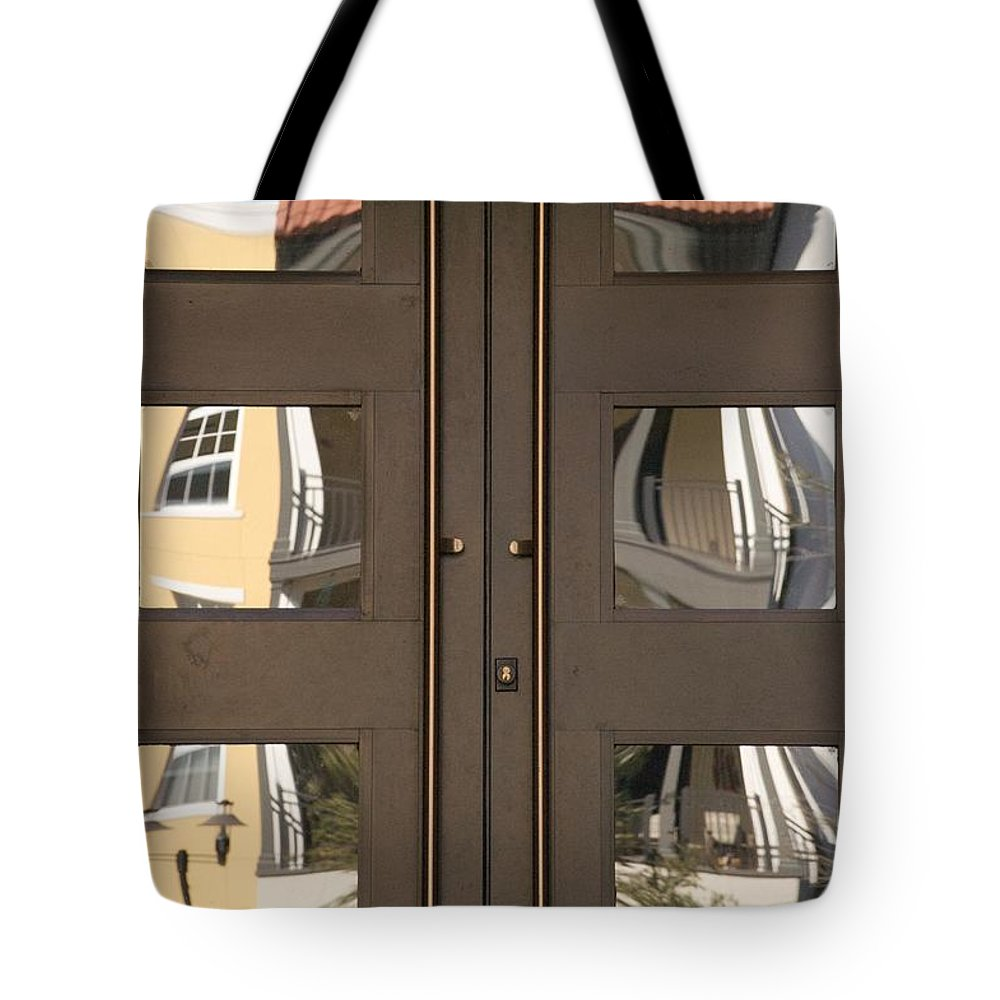 Ave Maria Tote Bag featuring the photograph La Piazza by Joseph Yarbrough