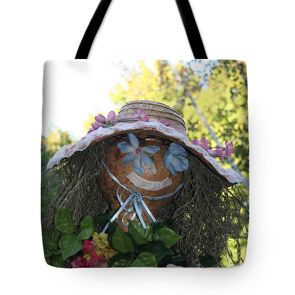 Fall Tote Bag featuring the photograph Lace And Straw by Susan Herber