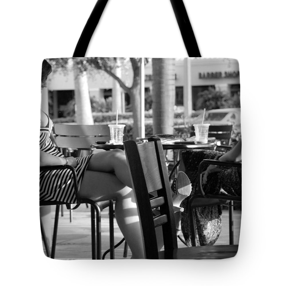 Women Tote Bag featuring the photograph Ladies In Dresses by Rob Hans