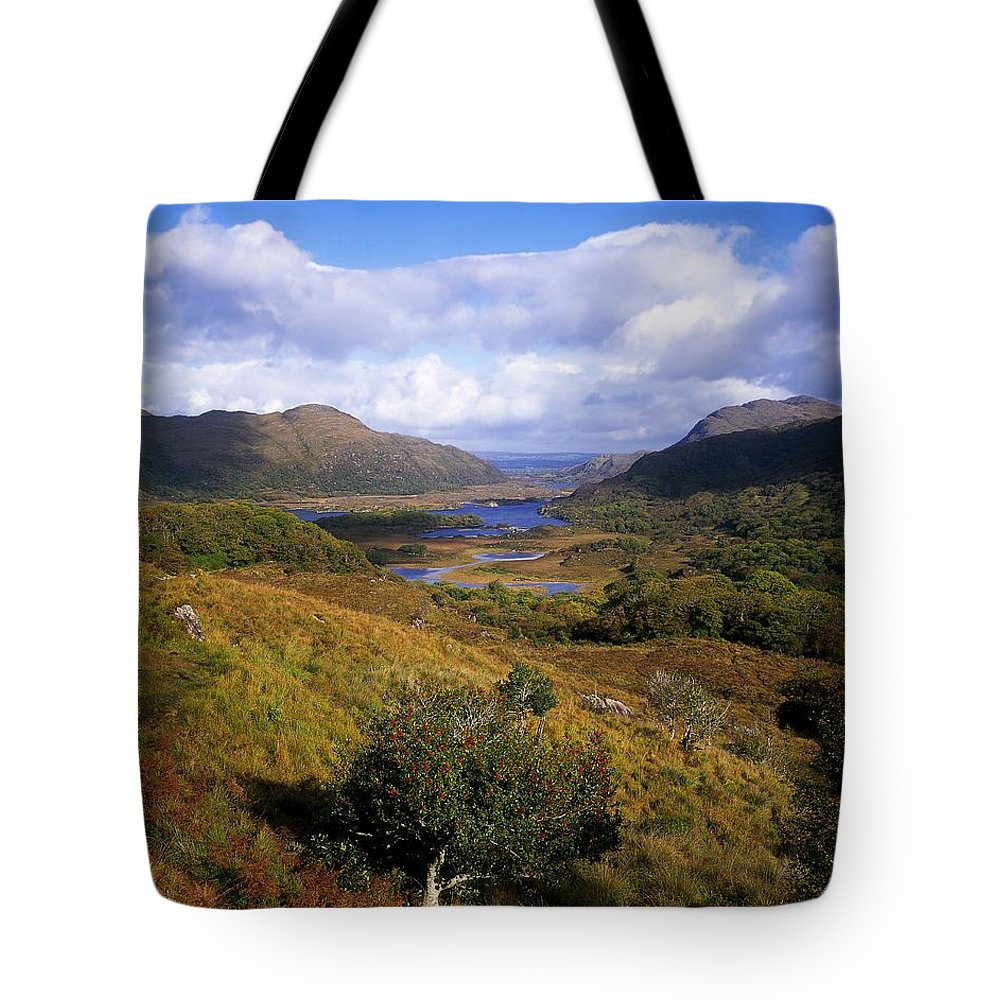 Cloud Tote Bag featuring the photograph Ladies View, Killarney, Co Kerry by The Irish Image Collection