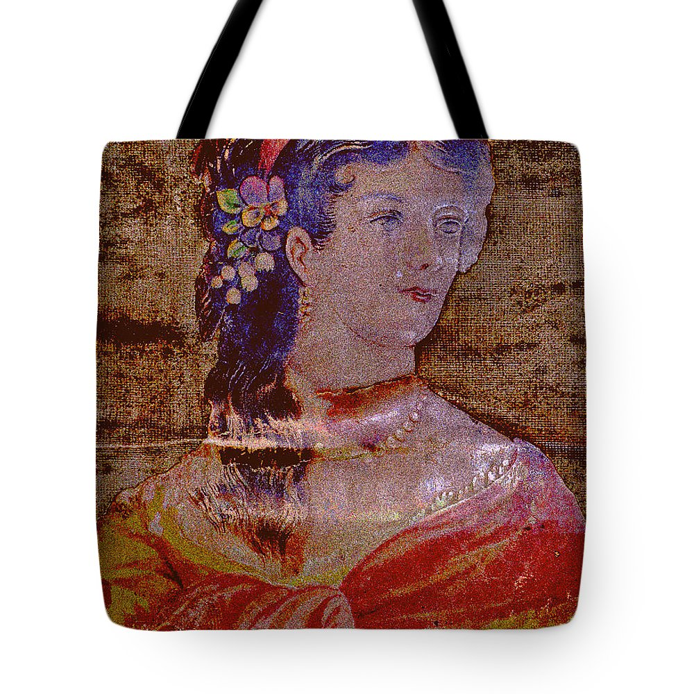 Female Tote Bag featuring the photograph Lady Of The House by Diane montana Jansson