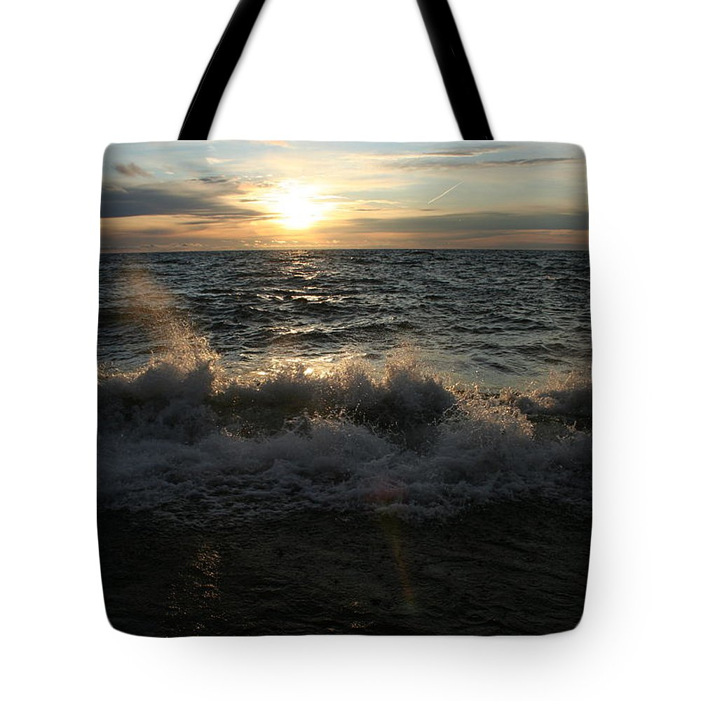 Tote Bag featuring the photograph Lake Superior by Joi Electa