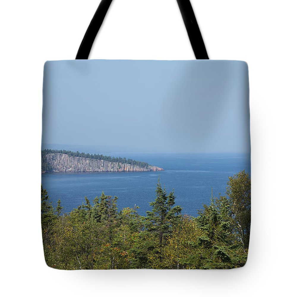 Lake Tote Bag featuring the photograph Lake Superior Shovel Point 2 by John Brueske