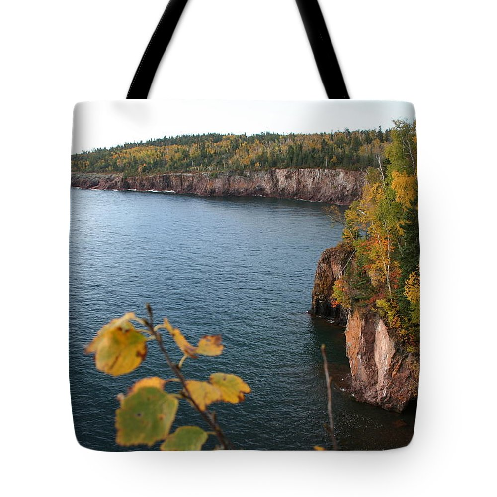 Tote Bag featuring the photograph Lake Superior Winter by Joi Electa