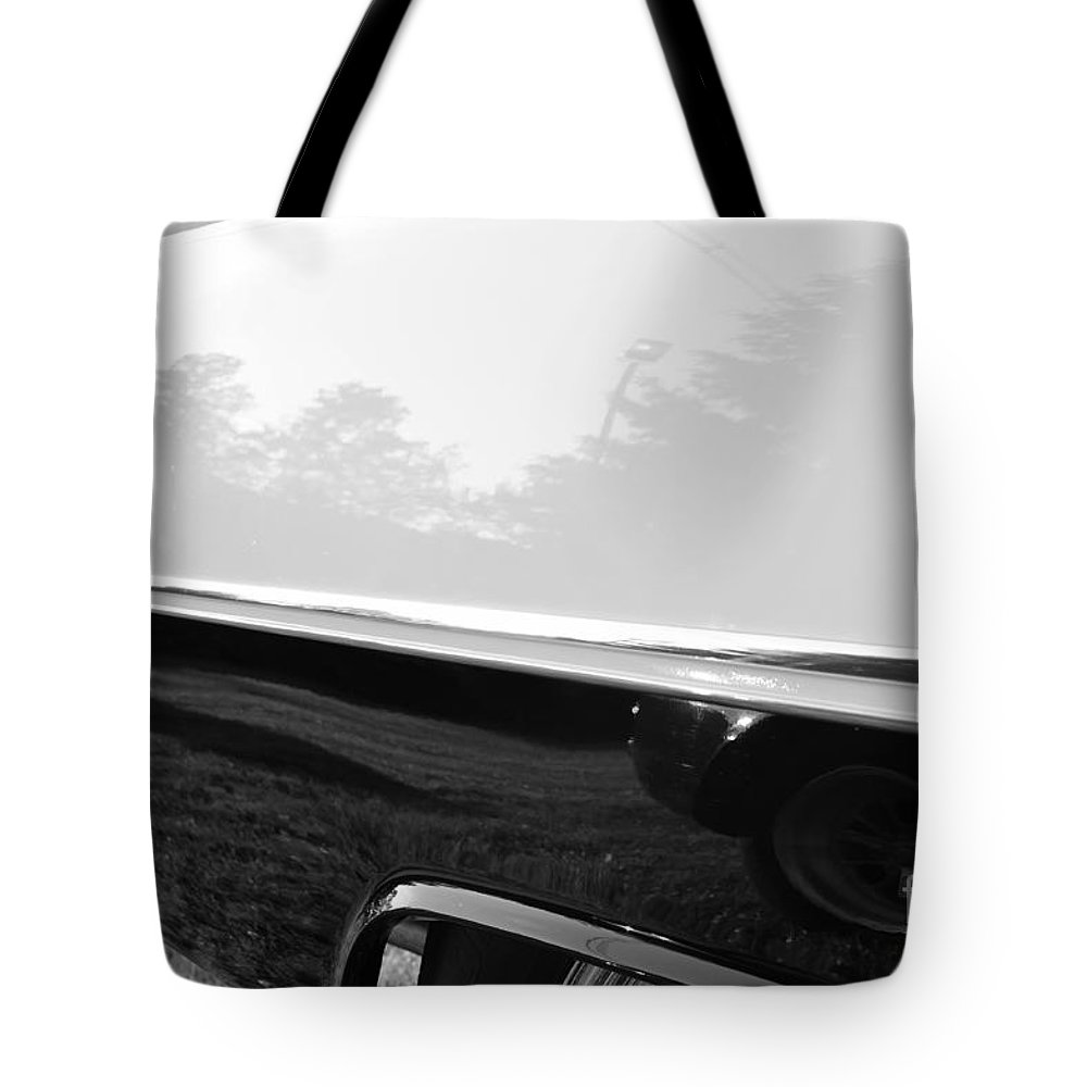 Chevy Tote Bag featuring the photograph Land Shark by Luke Moore