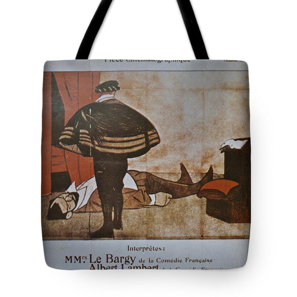 L'assassinat Du Duc De Guise Tote Bag featuring the digital art L'assassinat Du Duc De Guise by Georgia Fowler