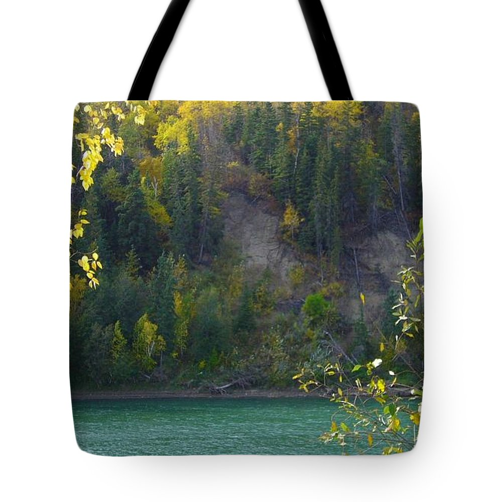 Nature Tote Bag featuring the photograph Late Afternoon Light by Jim Sauchyn
