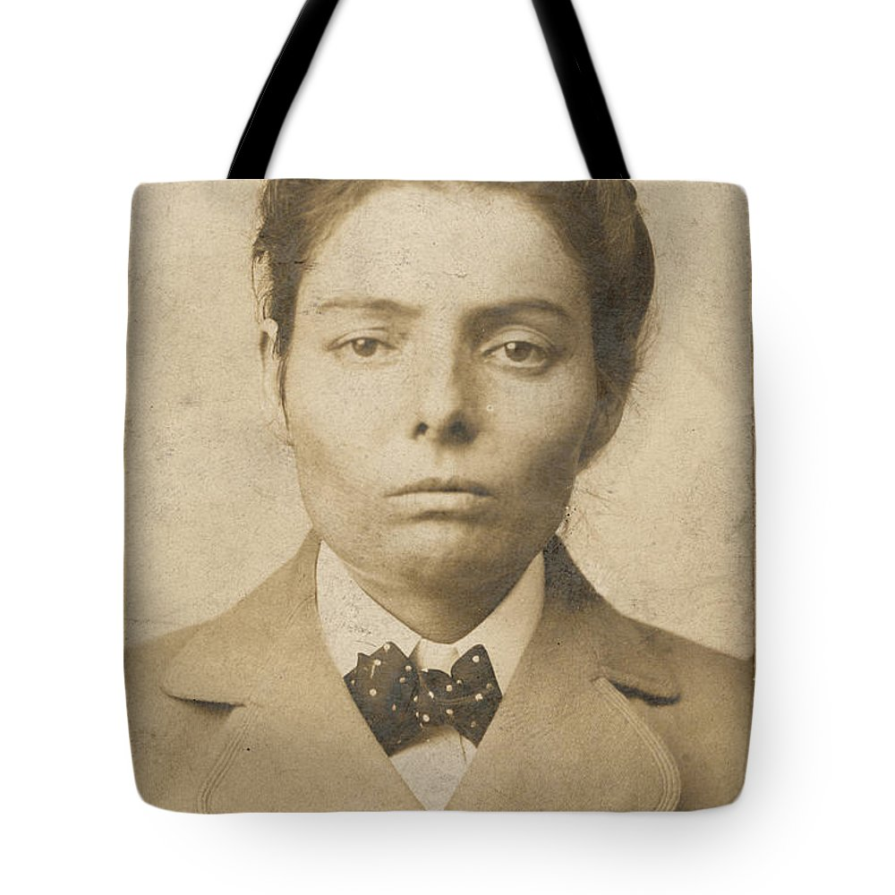 1893 Tote Bag featuring the photograph Laura Bullion (1876-1961) by Granger