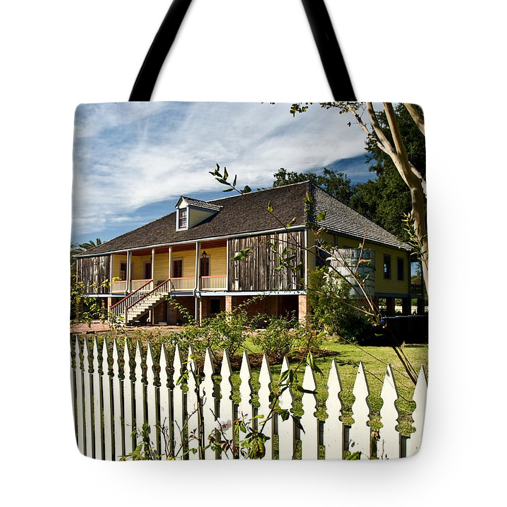 Register Tote Bag featuring the photograph Laura Creole Plantation by Jim Chamberlain