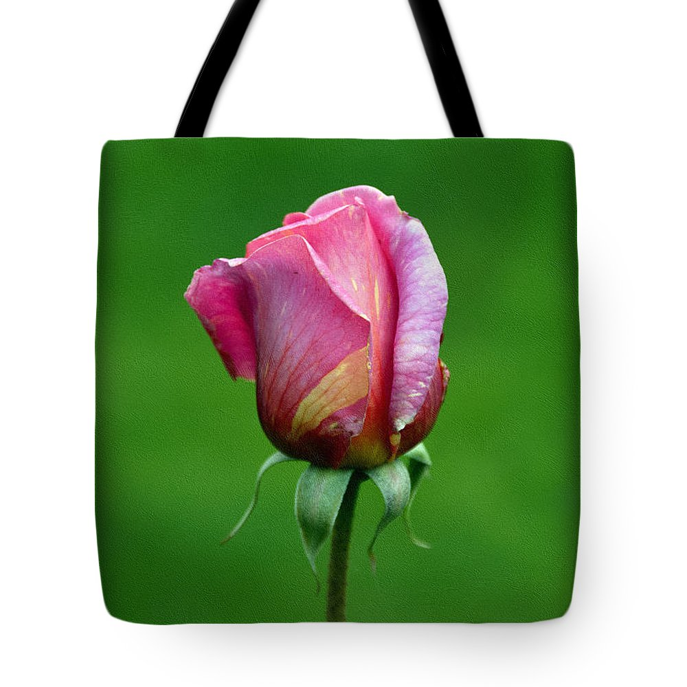 Flower Tote Bag featuring the photograph Left Standing Alone by Georgiana Romanovna